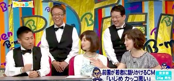 ワイドナB面・画像 佐々木恭子アナが前園真聖に「聞いてますよね」とツッコミ