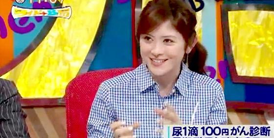 ワイドナB面・画像 ラフルアー宮澤エマ 青白チェックのシャツが似合う 2015_04_26