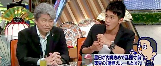 ワイドナショー画像 武井壮 鳥越俊太郎 黒田投手への内角攻めを解説 2015_05_03
