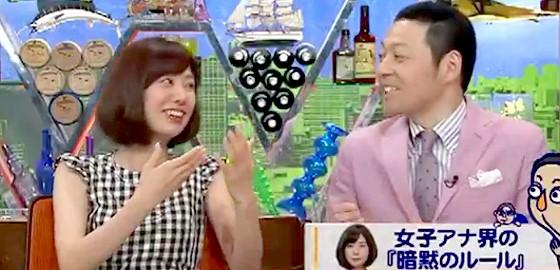 ワイドナショー画像 山崎夕貴アナ「恋愛話は聞きにくい」に東野幸治「めっちゃ聞きたいんでしょ?」とツッコミ