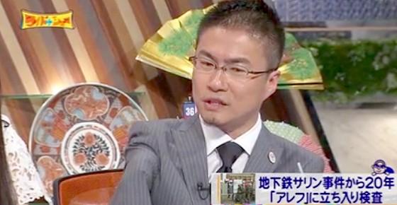 ワイドナショー画像 乙武洋匡がマインドコントロールの実態について質問 2015_03_22