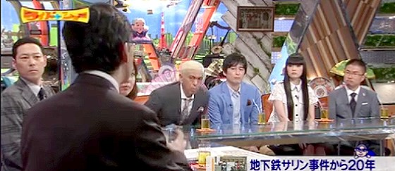 ワイドナショー画像 マインドコントロール 東野幸治 松本人志 博多大吉 秋元梢 乙武洋匡 2015_03_22