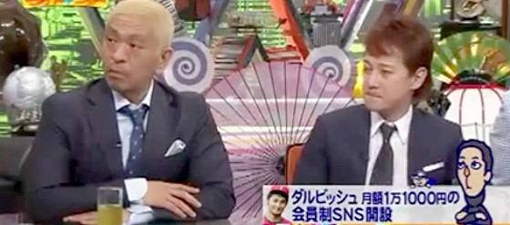 ワイドナショー画像 松本人志 高額SNSの金額設定に自分の体験を展開 2015_05_17