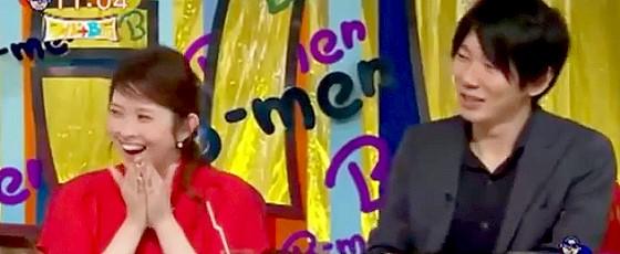 ワイドナB面・画像 ラフルアー宮澤エマ 古市憲寿 楽屋での松本人志のスベりっぷり?に爆笑 2015_05_24