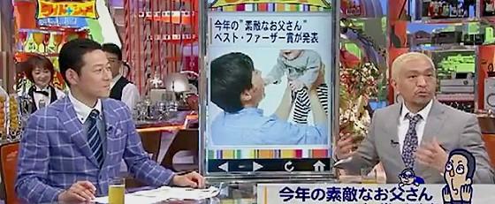ワイドナショー画像 東野幸治 松本人志 ベストファーザー賞の存在意義に物申す 2015_06_07