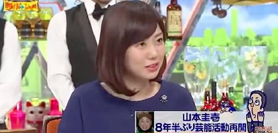 ワイドナショー画像 山崎夕貴アナ 山本圭壱が復帰しても女性目線として素直に笑えるかどうか疑問 2015_01_25