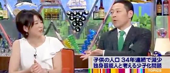 ワイドナショー画像 秋元優里アナウンサー 子育ては大変だが得られる幸せも大きい 2015_05_10