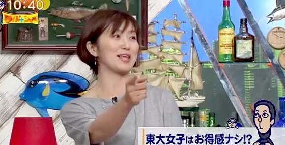 ワイドナショー画像 佐々木恭子アナ 東大卒の女子というだけで色眼鏡で見られる 2015_06_21