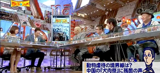 ワイドナショー画像 中国チワン族自治区の犬肉祭に海外から批判が集まっている 2015年6月28日
