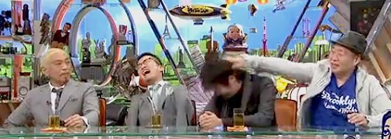 ワイドナショー画像 ウーマン村本大輔にツッコむ泉谷しげると爆笑する乙武洋匡 2015年6月28日