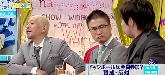 ワイドナショー画像 松本人志 乙武洋匡 ウーマン村本大輔の水産高校ネタに爆笑 2015年6月28日