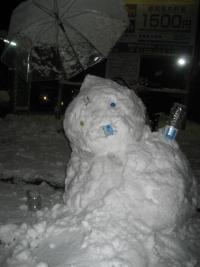 150102朝さんぽ③雪だるま