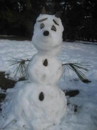 150104御所さんぽ⑫雪だるま