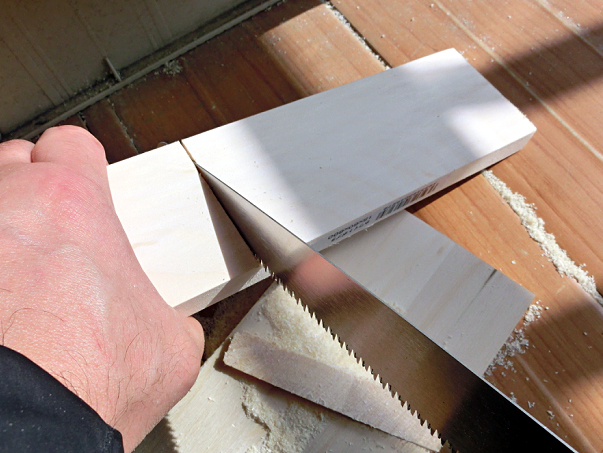 木材を切る