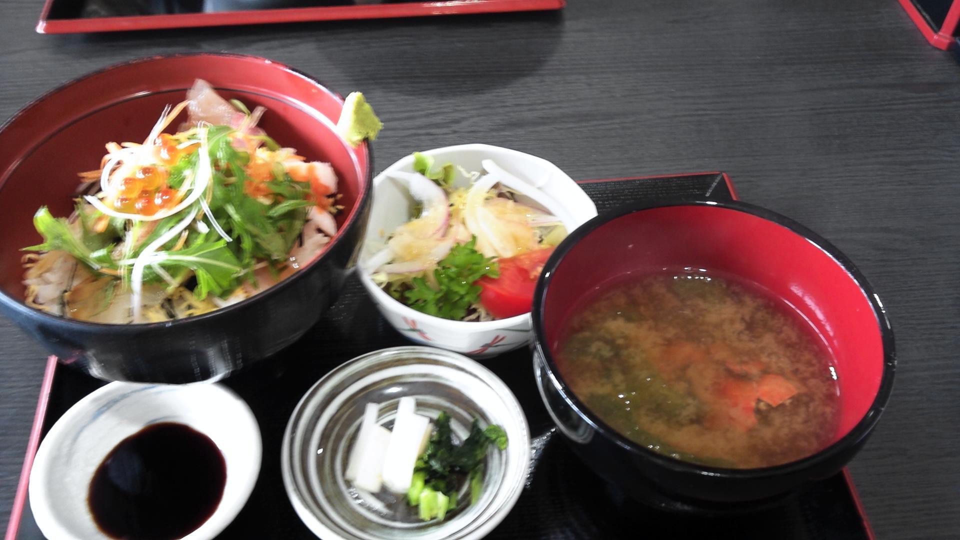 道の駅みつ昼飯‐海鮮丼‐