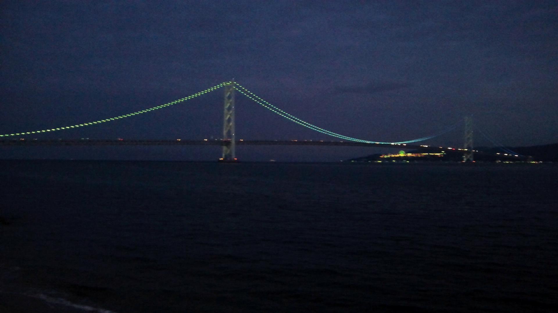 明石海峡ライトアップ