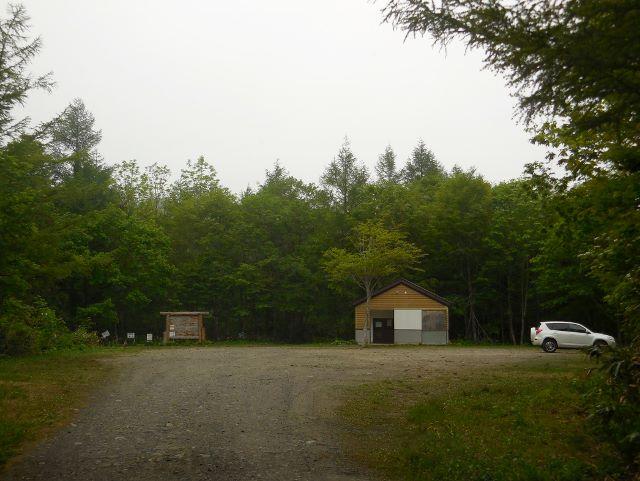 150528中沼登山口駐車場