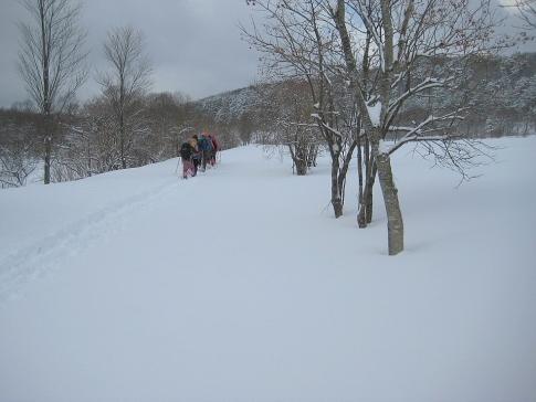 スノーハイキング臥龍山 007-001