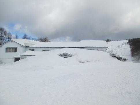 道後山スノーハイキング 沈 003