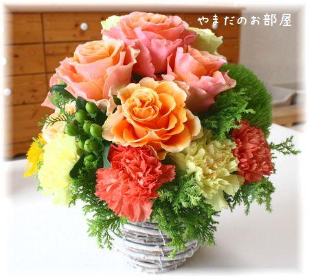 2015年 タロウの命日のお花①