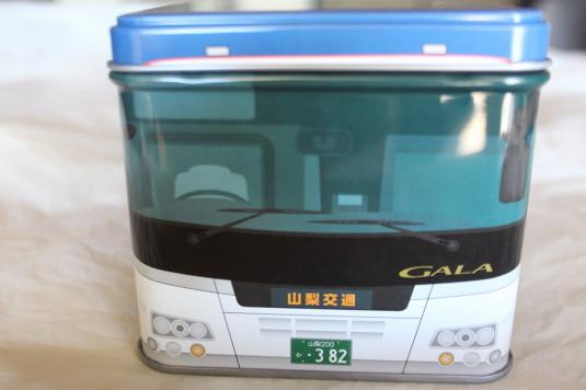 山交バス缶 正面