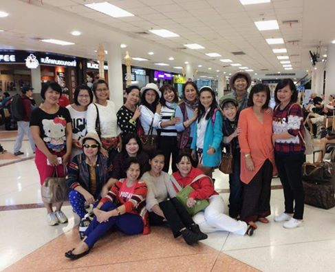 チェンマイ空港へお迎え!