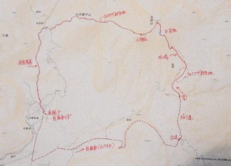 太郎山マップ