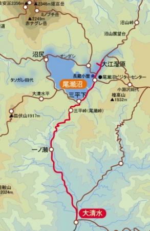 尾瀬沼マップ1