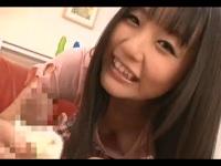 【つぼみ】可愛すぎる美少女の脱ぎたてパンティー手コキの破壊力!!