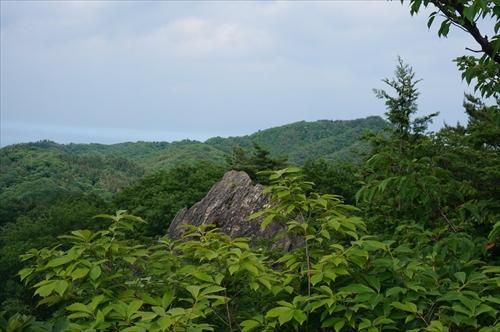8御岩山から神峰山