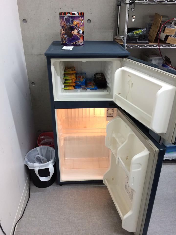 冷蔵庫開け