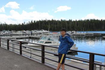 lake camping 1