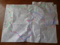 コース図【茶臼山~杉越登山口】c