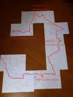 コース図(後半50km)