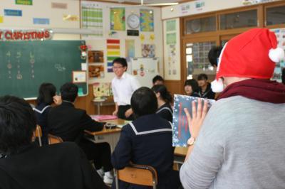 クリスマス授業4