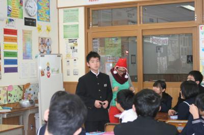 クリスマス授業1