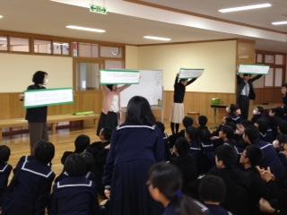 学級発表2