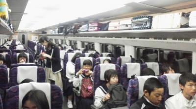 新幹線乗車3
