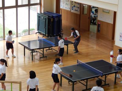 卓球練習1