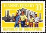 シンガポール独立1周年