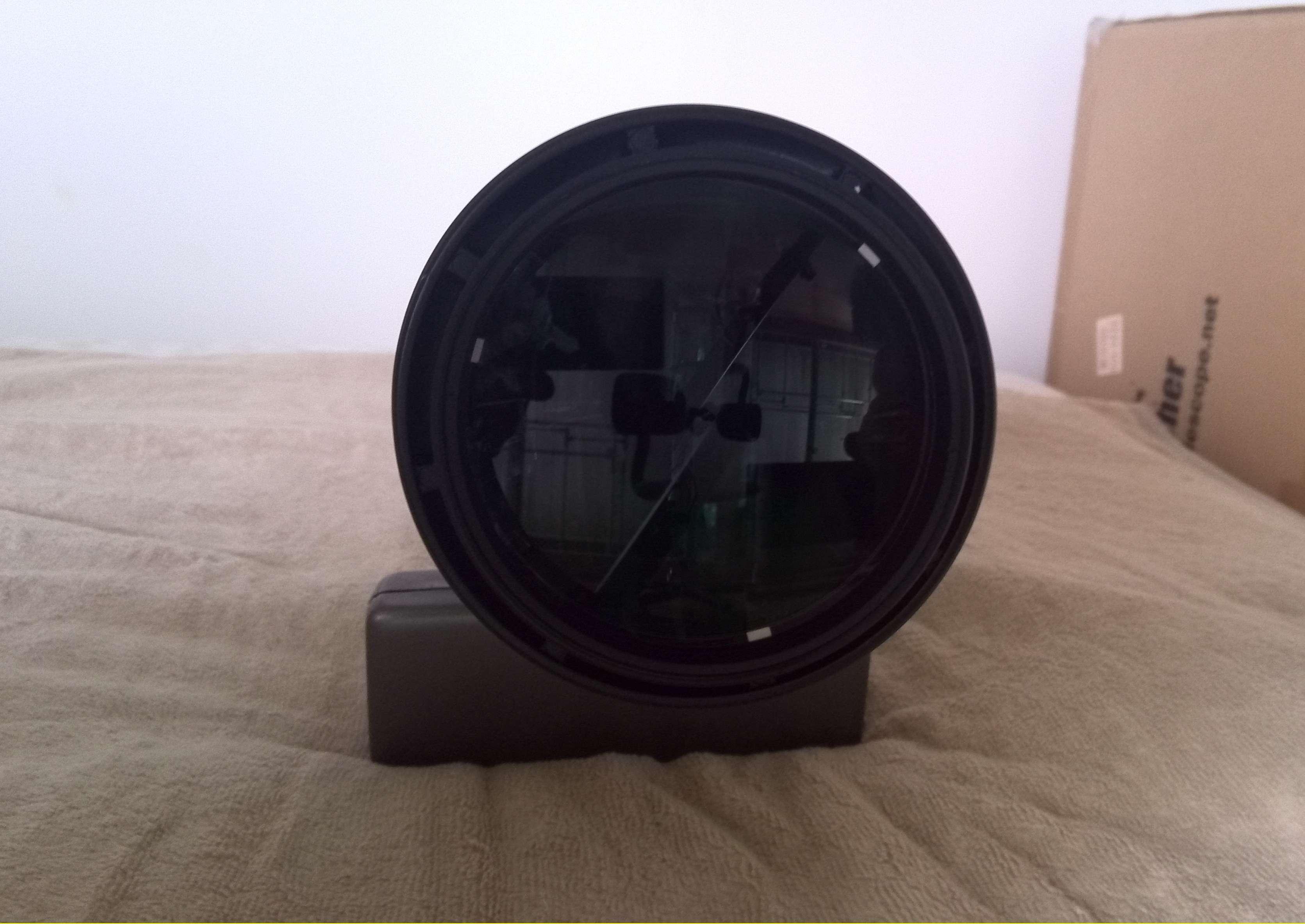 ED103S対物レンズ固定金具3か所