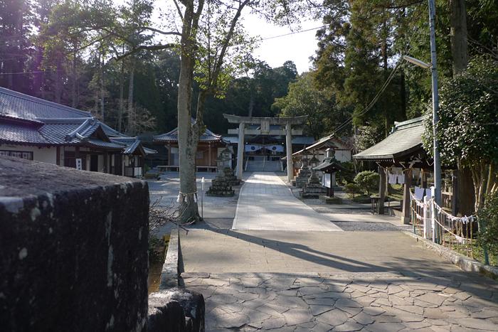 西寒多神社  大分県  3