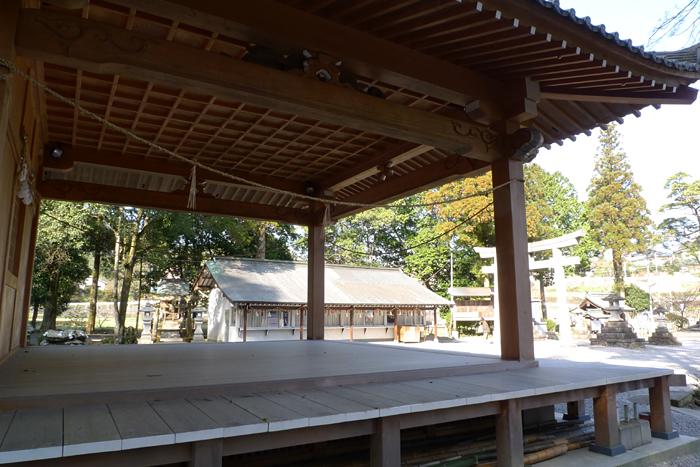 西寒多神社  大分県  16