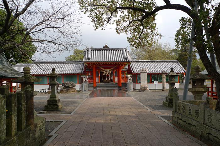 八代神社(妙見宮)  熊本県  2