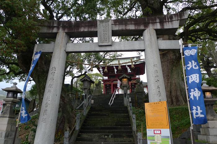 北岡神社 熊本市 1