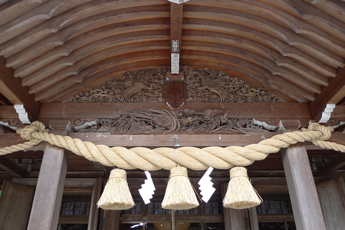 高瀬神社  富山県  13