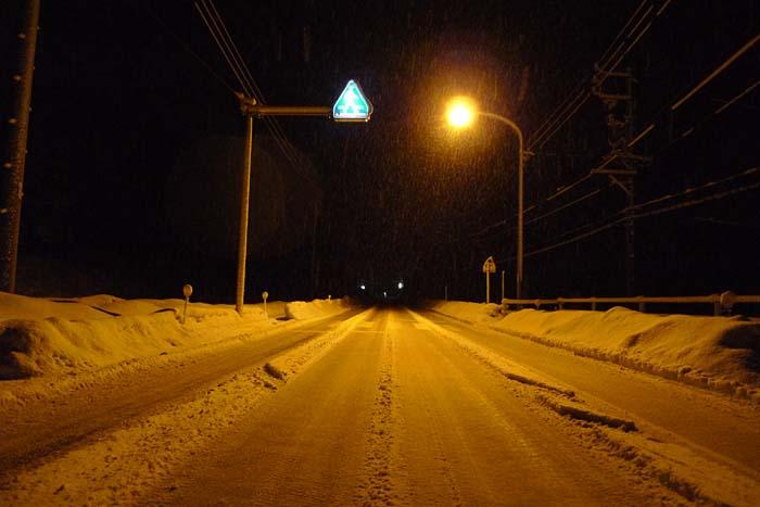 2015 雪の夜