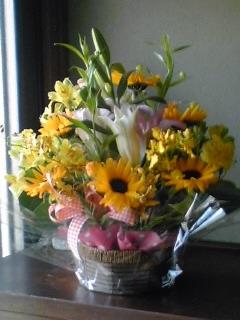 ありがとうのお花