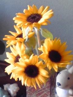 ありがとうのお花ふたたび