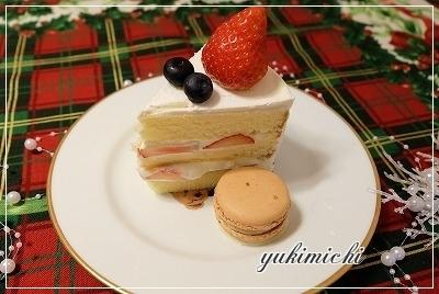 クリスマスケーキ断面SHOW☆